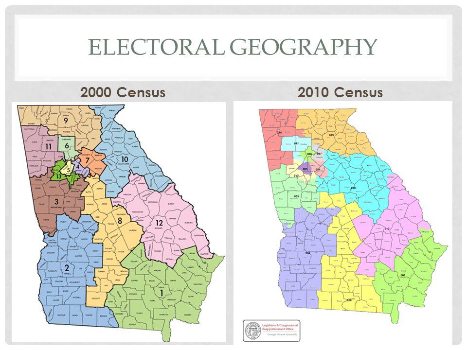 ELECTORAL GEOGRAPHY 2000 Census2010 Census
