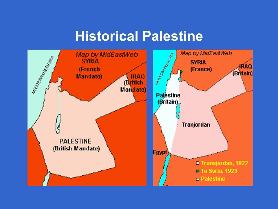 The Partition Plan (1947) – The Green Line (1948-1967)