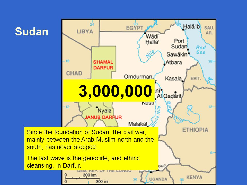 Ben-Dror Yemini bdyemini@gmail.com Sudan Since the foundation of Sudan, the civil war, mainly between the Arab-Muslim north and the south, has never stopped.