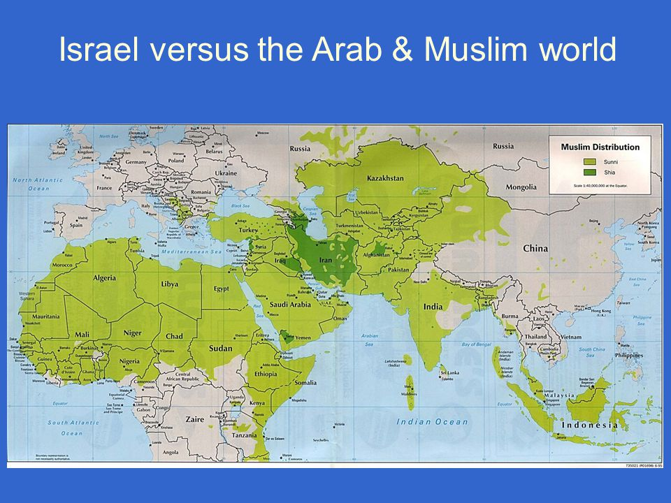 Israel versus the Arab & Muslim world