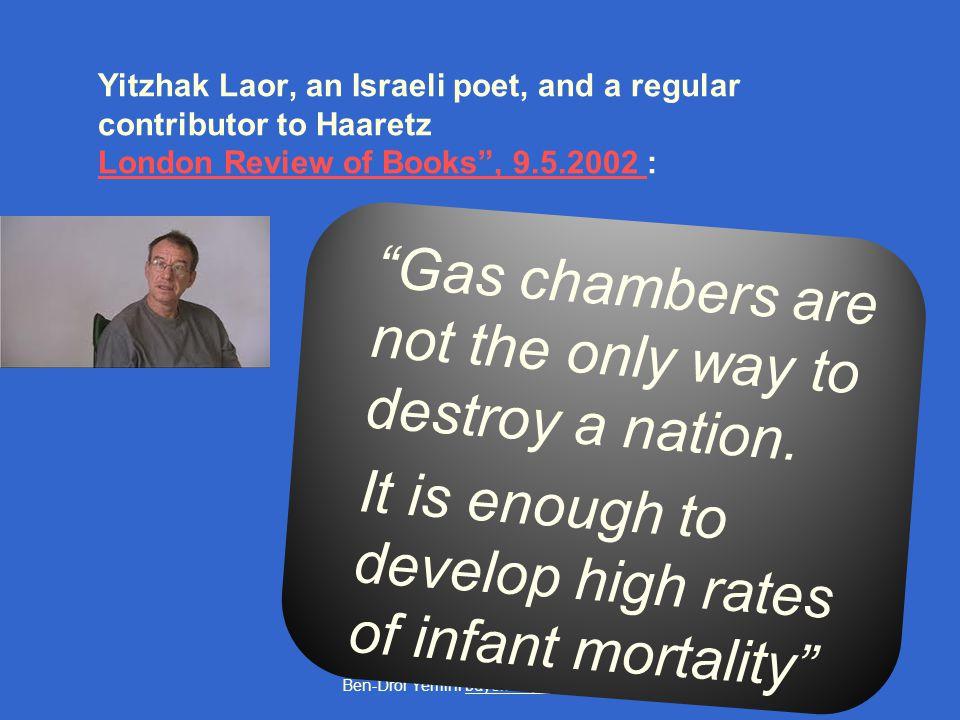 Ben-Dror Yemini bdyemini@gmail.com The World Bank: infant mortality, West Bank & Gaza Strip