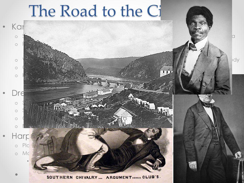The Road to the Civil War Kansas – Nebraska Act (1854): o Stephen Douglas proposed allowing popular sovereignty in Kansas and Nebraska o Problem? Both