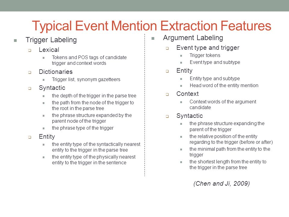 Annotating related entities In addition to event coreference, we also annotate entity relations between events.