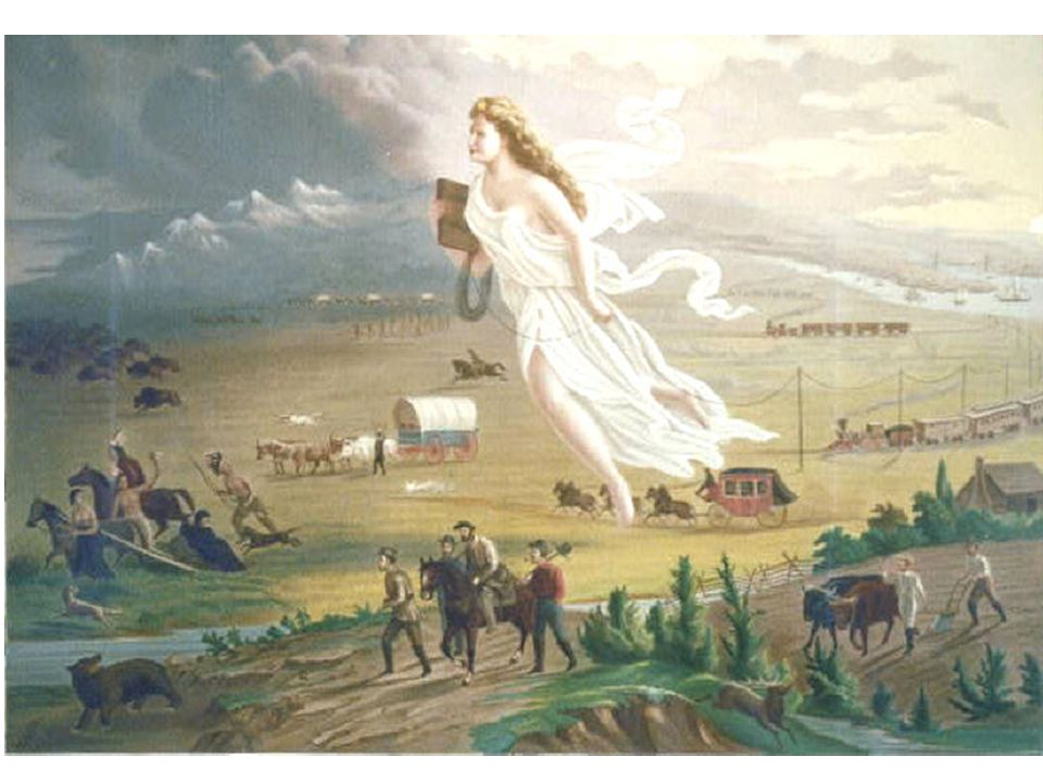 How the West was Won (Bought) In the early 1800s the USA was limited to lands East of the Mississippi River However, we know by the Civil War California and Texas were states: How.