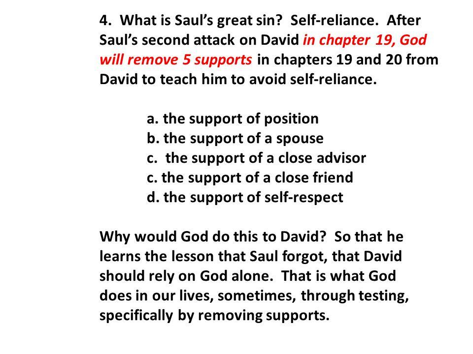 II.Saul attempts to kill David a second time—Michal intercedes (vv.