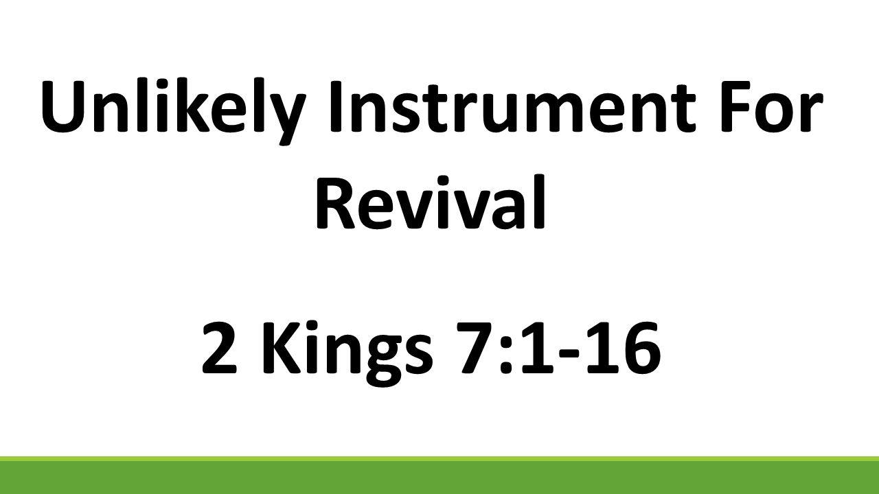 1 Then Elisha said, Hear the word of the L ORD.