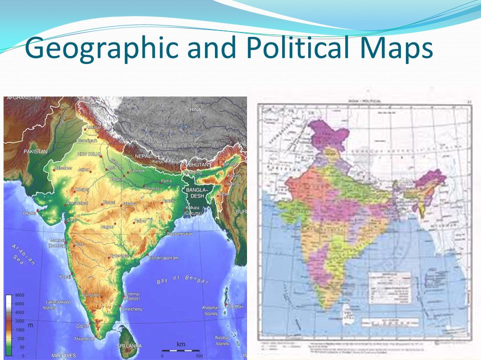 Geographic and Political Maps