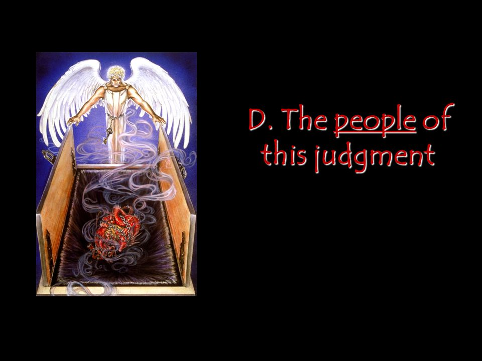 D. The people of this judgment