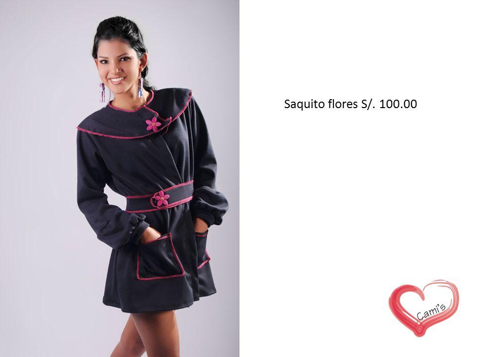 Saquito flores S/. 100.00