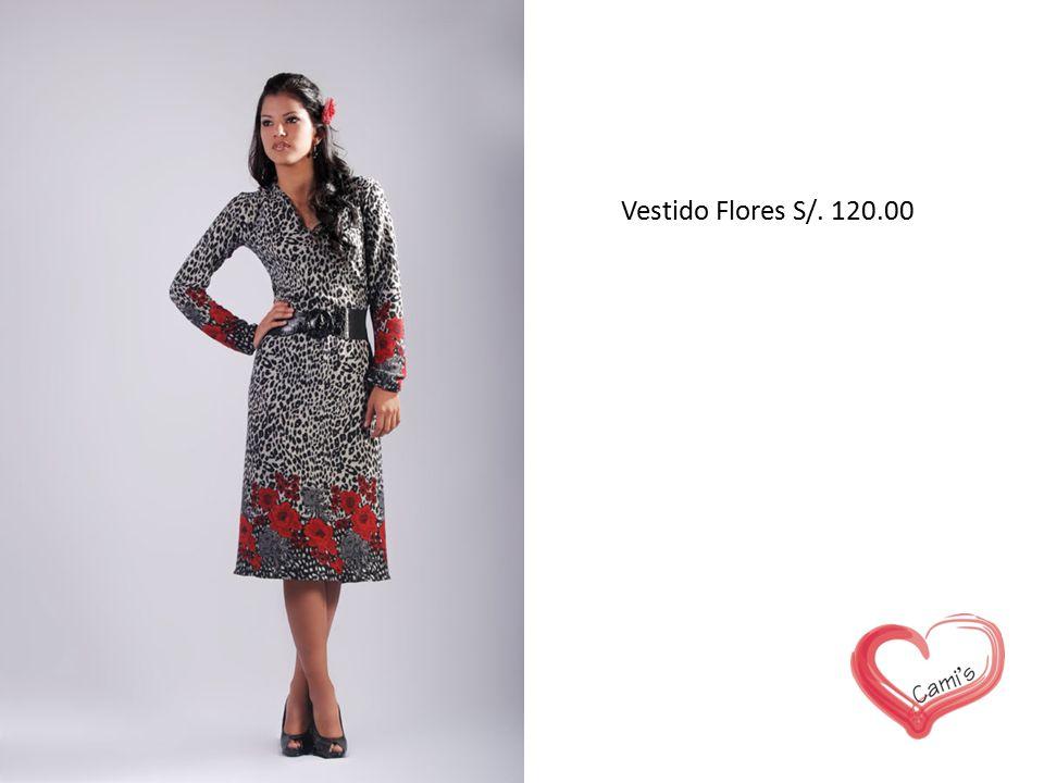 Vestido Flores S/. 120.00