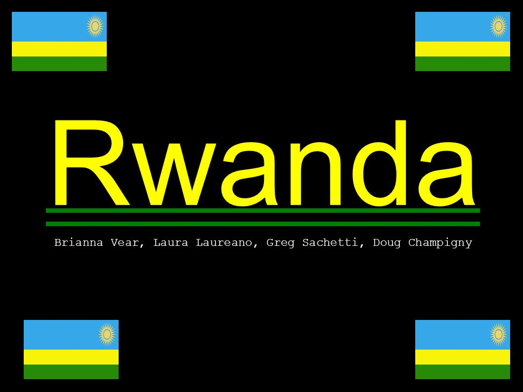 Location: Central Africa Borders Burundi, Democratic Republic of the Congo Tanzania and Uganda 893 km of border Area 26,338 sq km Land 24,668 sq km 155 Largest country in the world Landlocked Slighlty larger then maryland