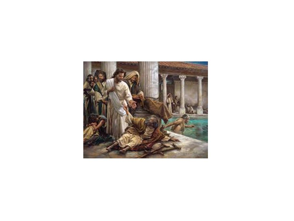 John 5:1-2 1, After this there was a feast of the Jews; and Jesus went up to Jerusalem. 2, Now there is at Jerusalem by the sheep market a pool, which is called in the Hebrew tongue Bethesda, having five porches.