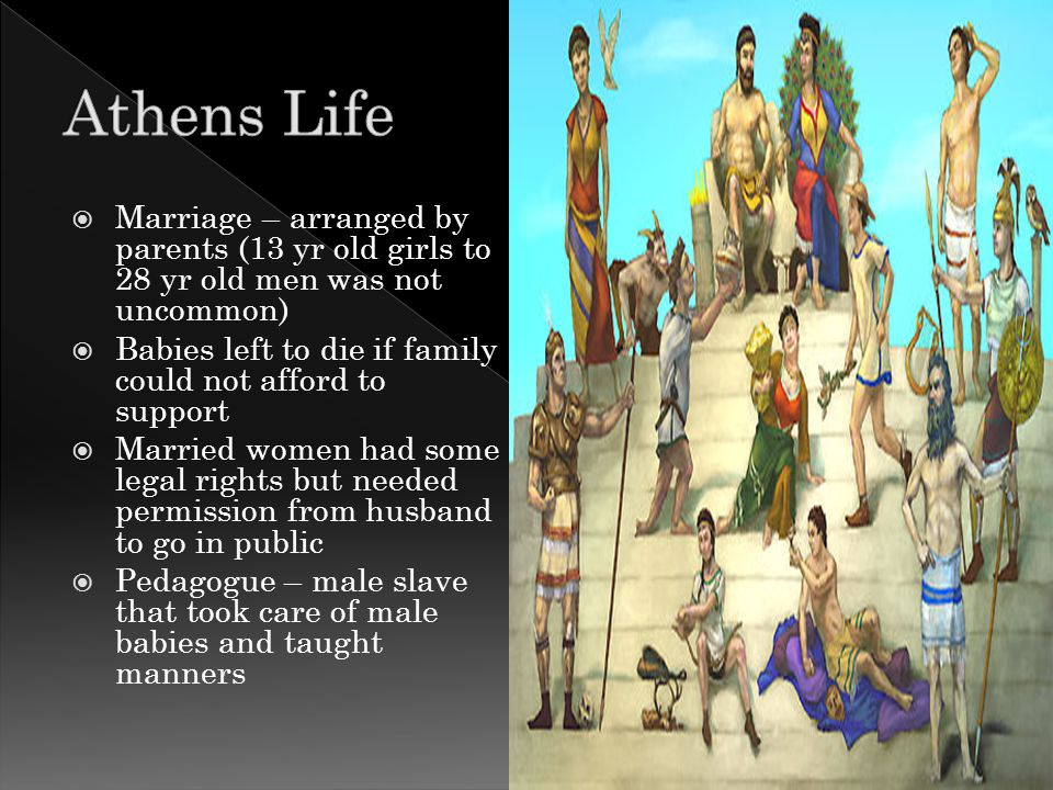  Farming – most honorable job  Athens had bad soil that was hard & rocky; terracing was used  Sheep, goats, milk, cheese, wool, meat, fish = trading  Built temples, buildings, houses (made of sundried brick)  Oil lamps lighting, no plumbing, had narrow streets, no paving, no sewage, no cleaning
