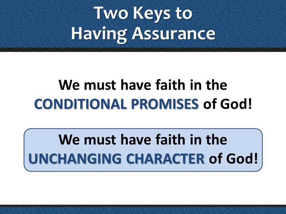 God is faithful.He who promised is faithful.