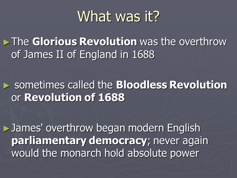 Daily Learning Goal ► What were some of the causes of the English Revolution and what was the outcome???