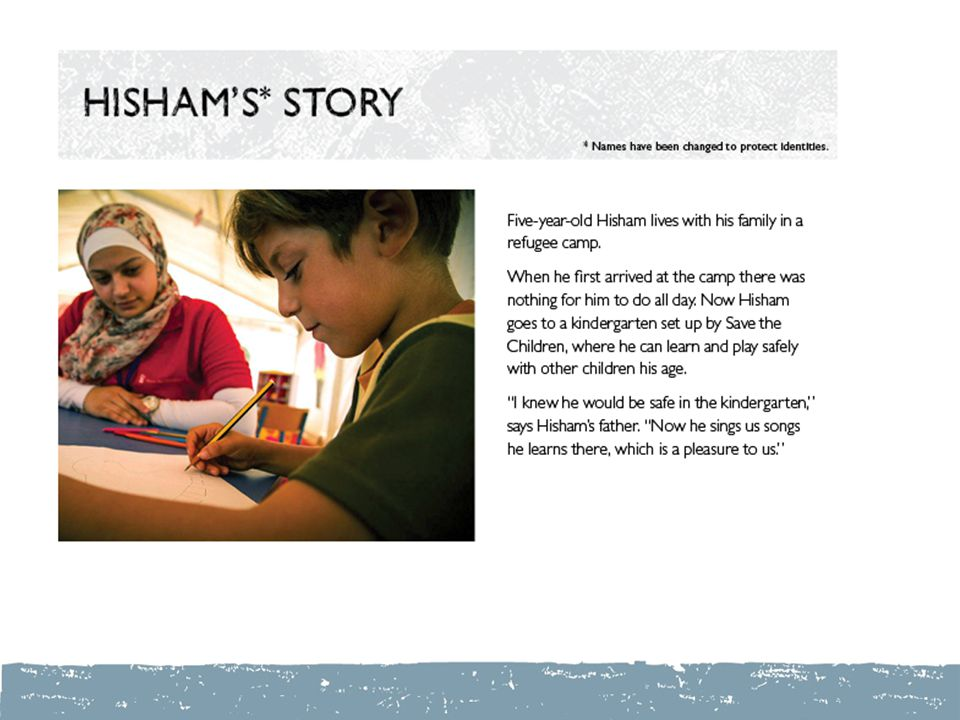 Hisham's Story