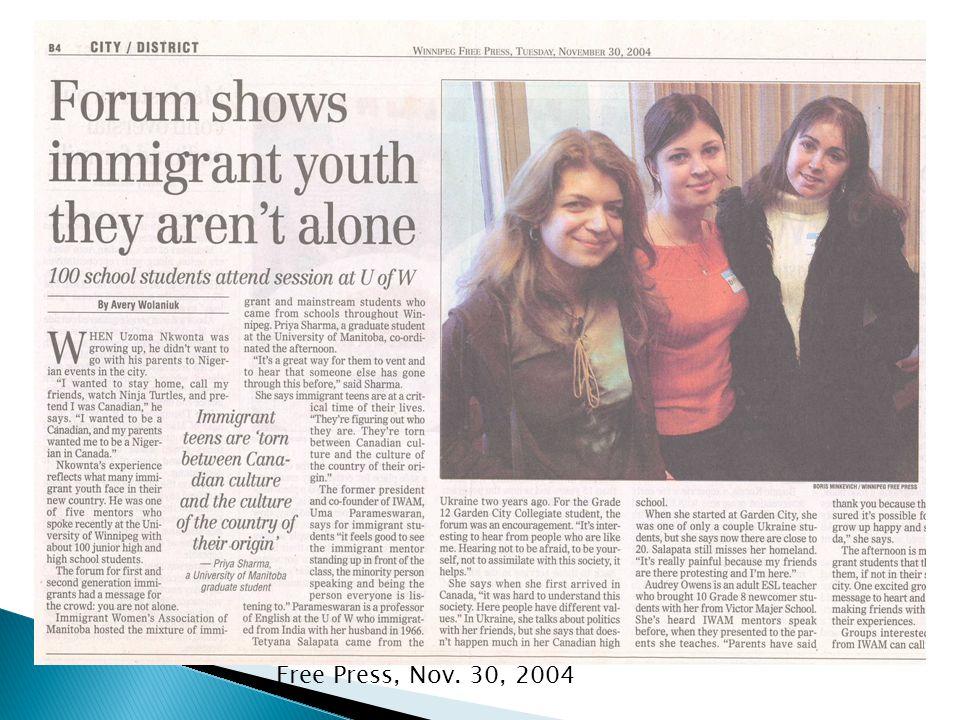 Free Press, Nov. 30, 2004