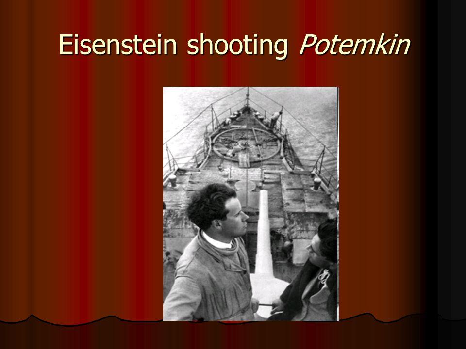 Eisenstein shooting Potemkin
