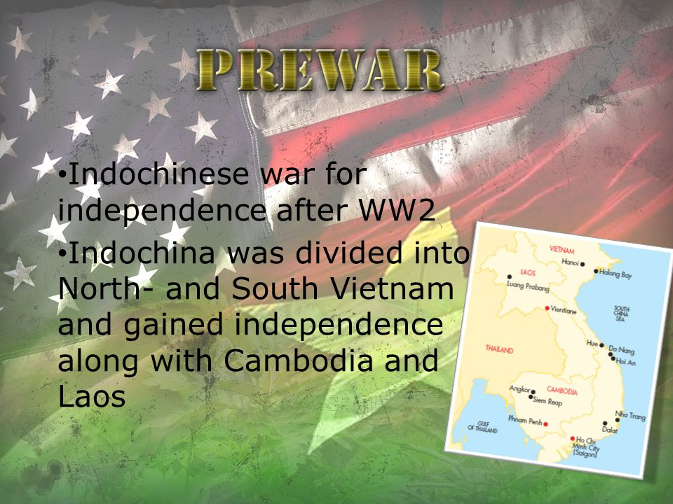 Temporary partition, north and south The Geneva Convention, northern vietnamese fled southwards The domino theory, communism Insurgency in the South National Front for the Liberation of South Vietnam (NLF)