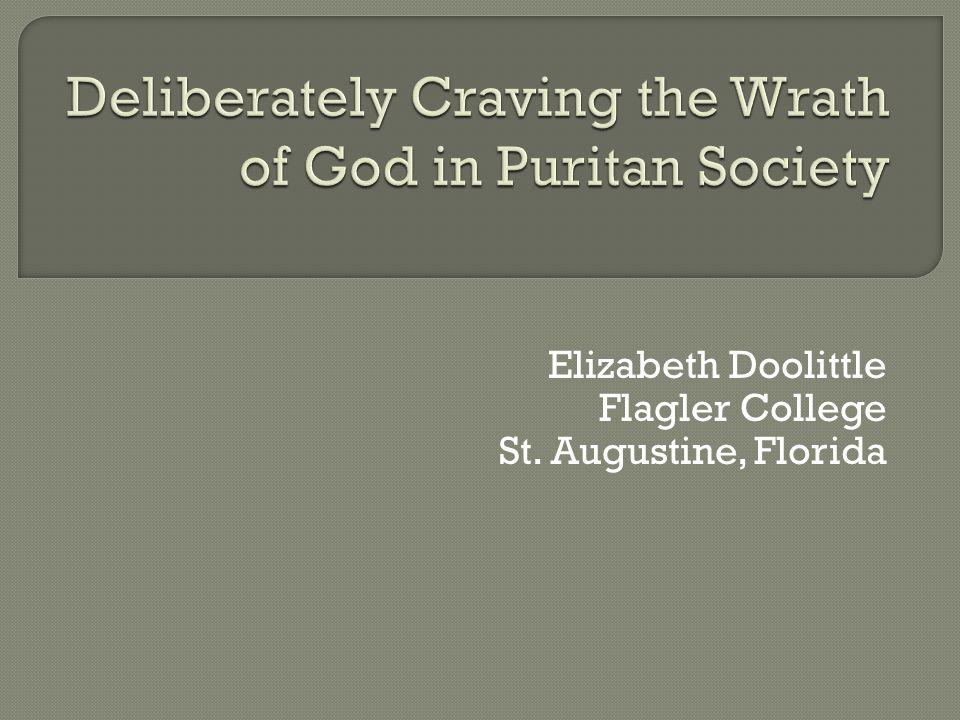 Elizabeth Doolittle Flagler College St. Augustine, Florida