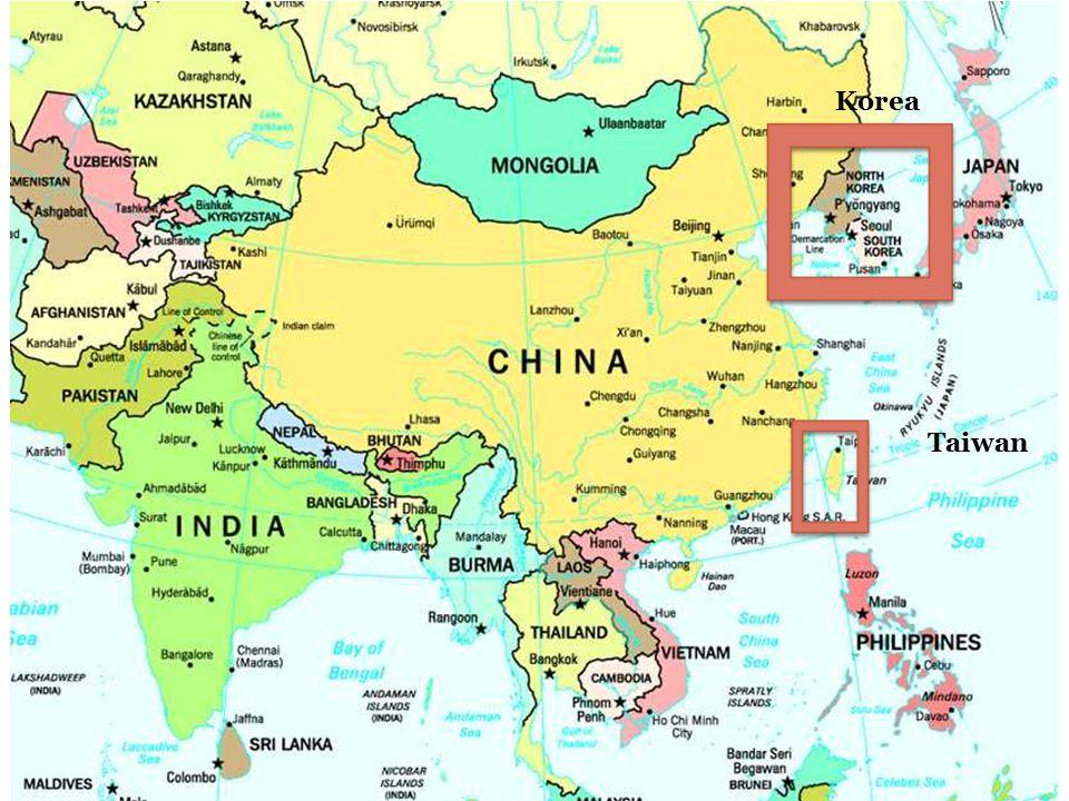Korea Taiwan