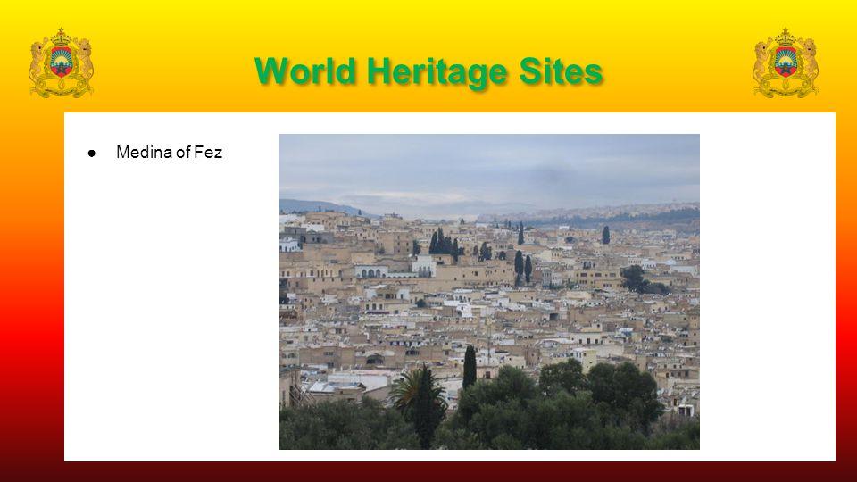 World Heritage Sites ●Medina of Fez
