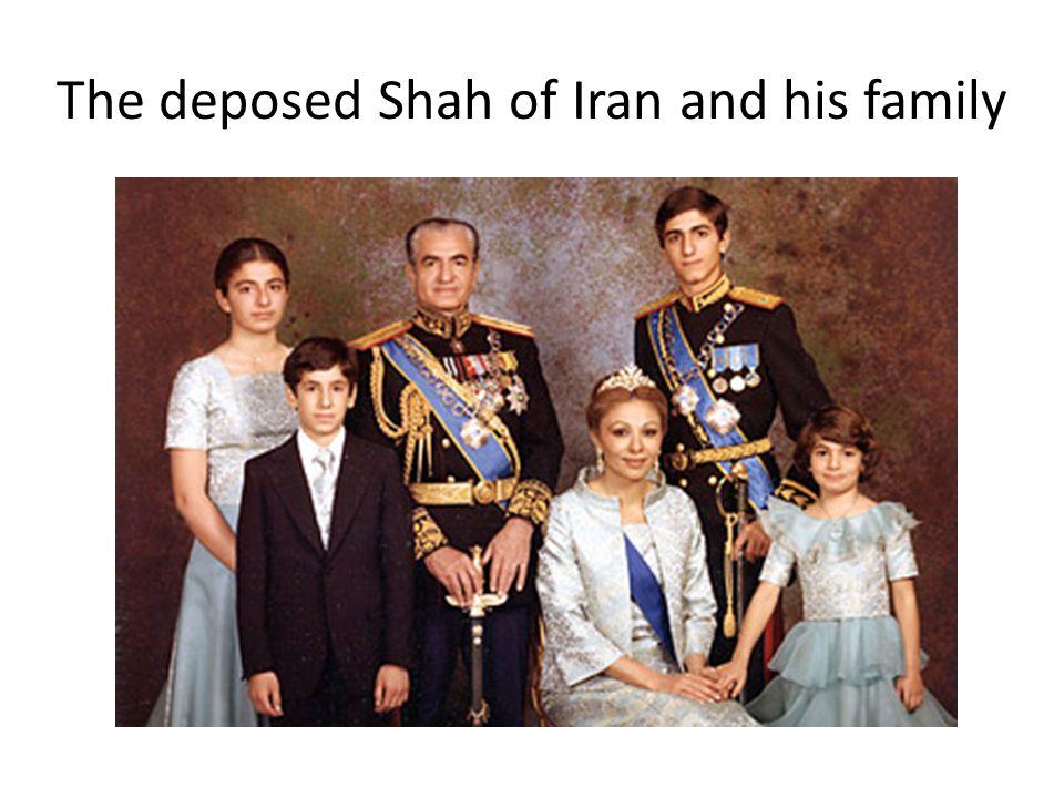 The supreme leader: Ayatollah Khomeini
