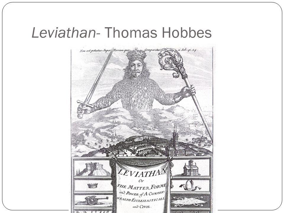 Leviathan- Thomas Hobbes