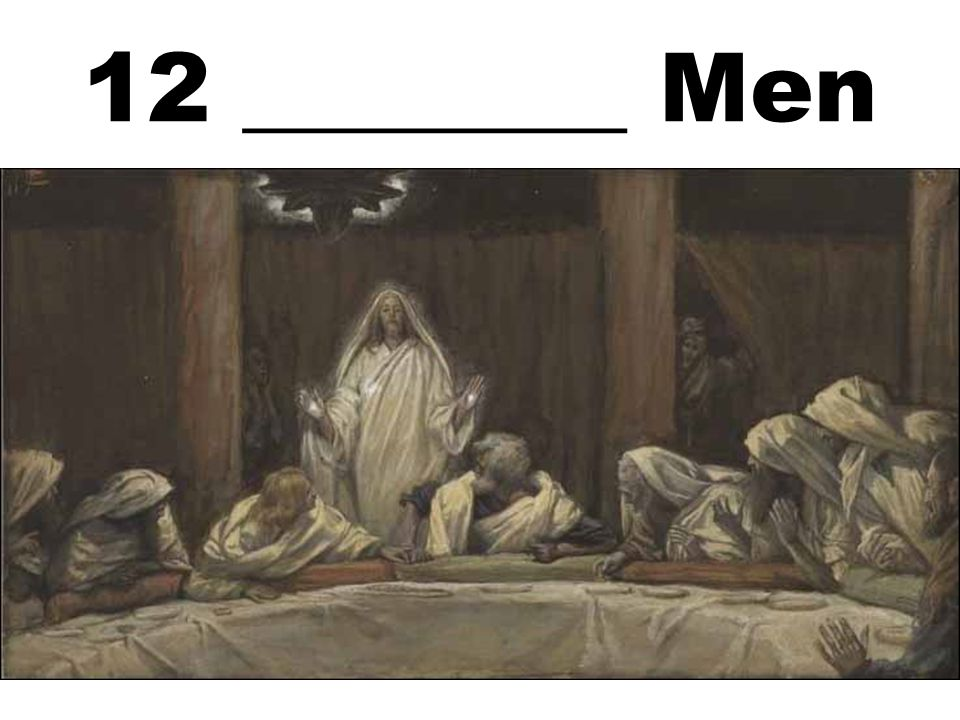 12 ________ Men