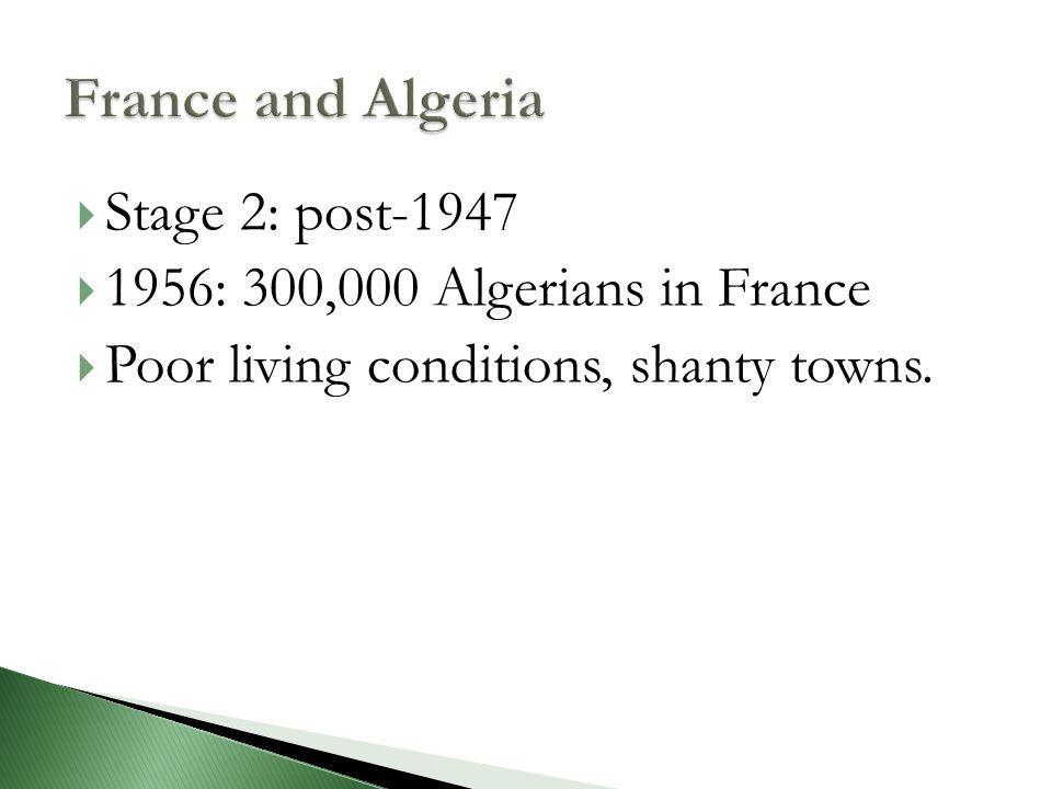  Filiation = droit du sang  No droit du sol  French if one parent born in France = double droit du sol  Algeria: French if one parent born in Algeria before independence