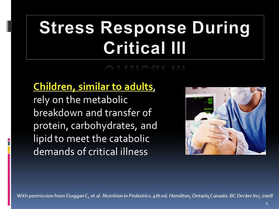 Adult :  1,5 g/kg BB – 2,5 g/kg BB In PICU patient :  Infant : 2,5 – 3 g/kg/day  Older children : 2 – 2,5 g/kg/day  Adolescent : 1,5 – 2 g/kg/day 25 Protein ASPEN Nutrition Support Practice Manual 2 nd Ed, 2005