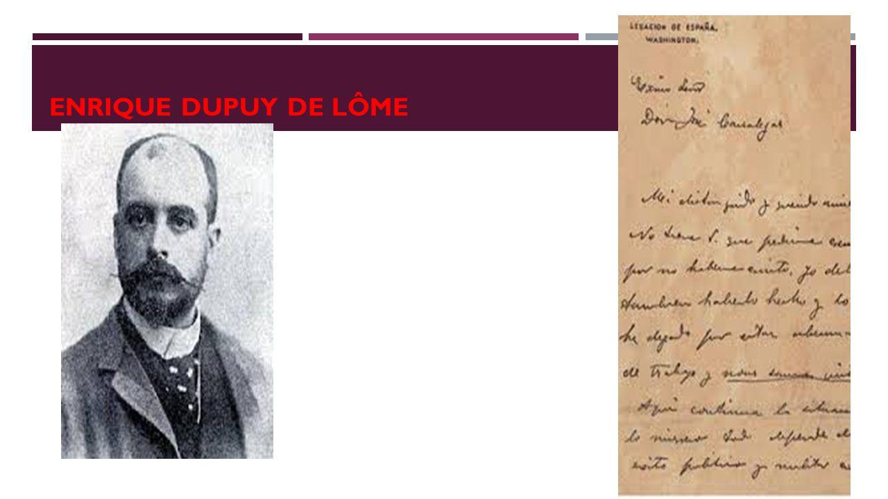 ENRIQUE DUPUY DE LÔME
