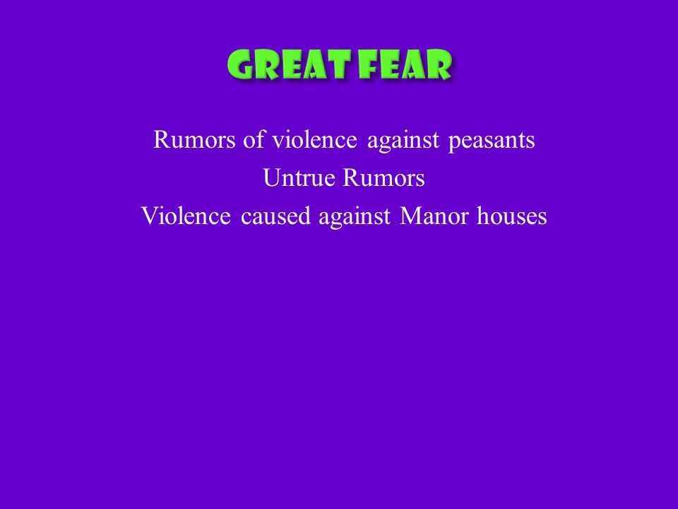Rumors of violence against peasants Untrue Rumors Violence caused against Manor houses