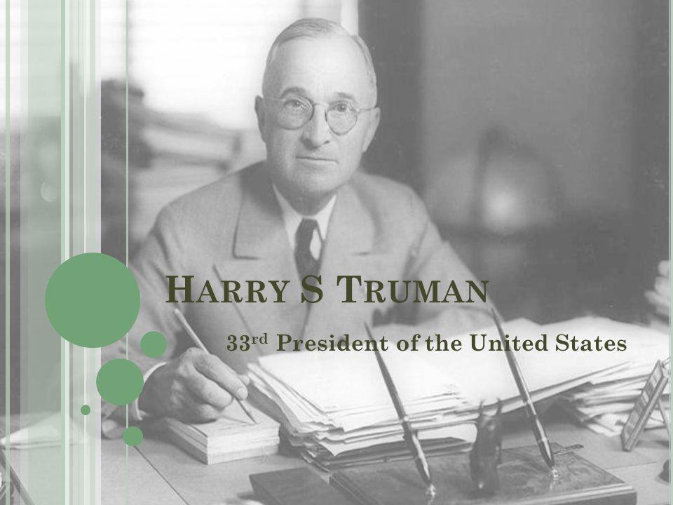 M EET THE C ANDIDATES … Top Left: Harry Truman-Democrat Bottom Left: Thomas E.