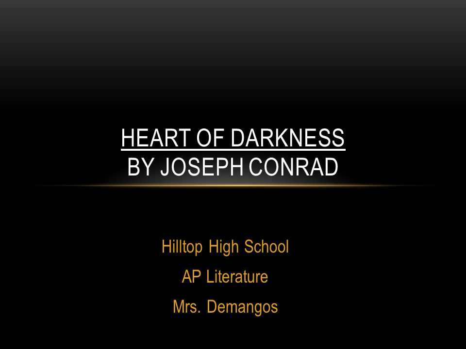 heart of darkness 9 essay 【 heart of darkness essay 】 from best writers of artscolumbia largest assortment of free essays find what you need here.