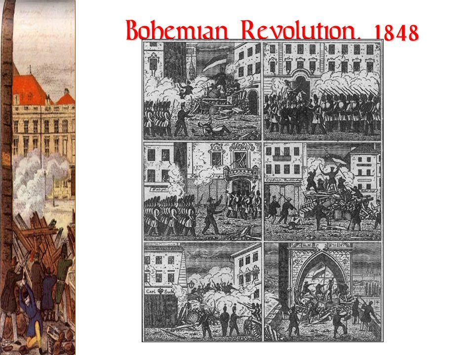 Bohemian Revolution, 1848
