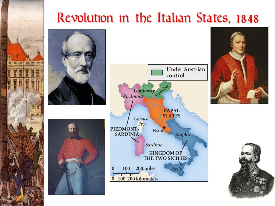 Revolution in the Italian States, 1848