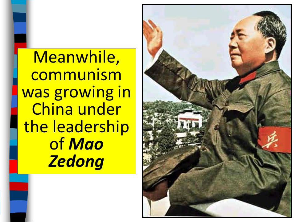 But, the republic did not modernize China and led to an era of chaos In the 1920s, nationalist leader Chiang Kai-shek took over and ran China as a dic