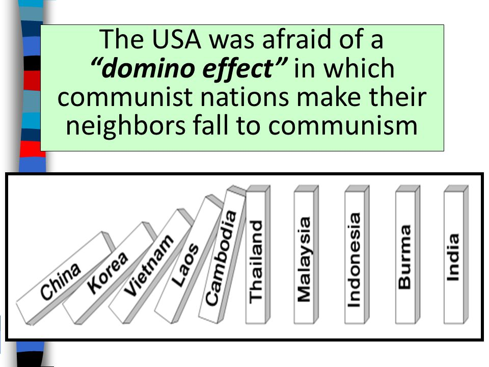America's response to the fall of China was to more aggressively confront communism in the world
