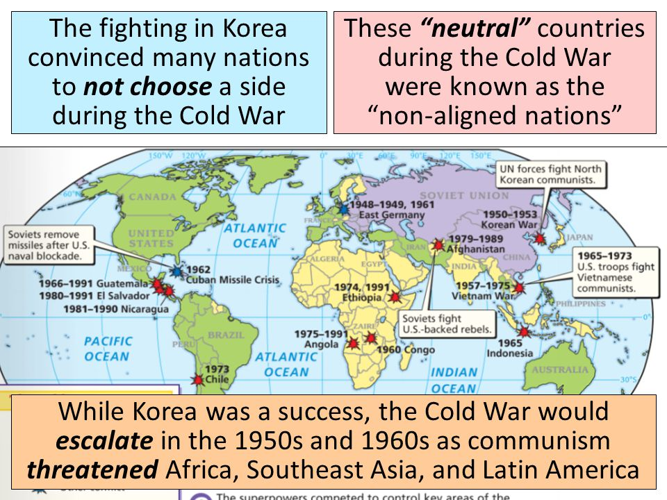 The USA successfully stopped communism from spreading into South Korea and showed that it was willing to fight to contain communism Today, Korea remai