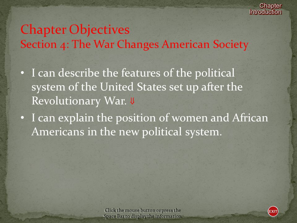 Section 4-The War Changes American Society