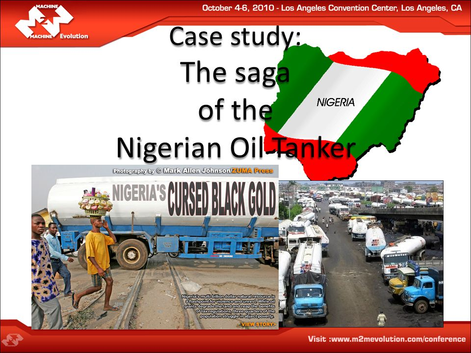 Case study: The saga of the Nigerian Oil Tanker