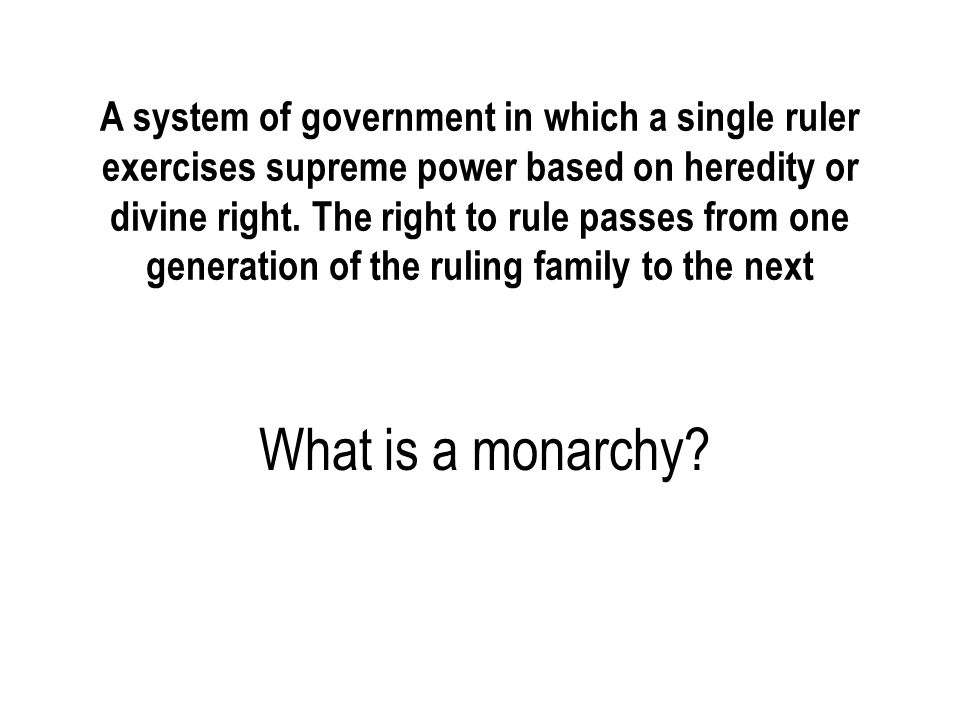system of government in which the powers of the monarch are limited by the constitution, either written or unwritten What is a constitutional monarchy?