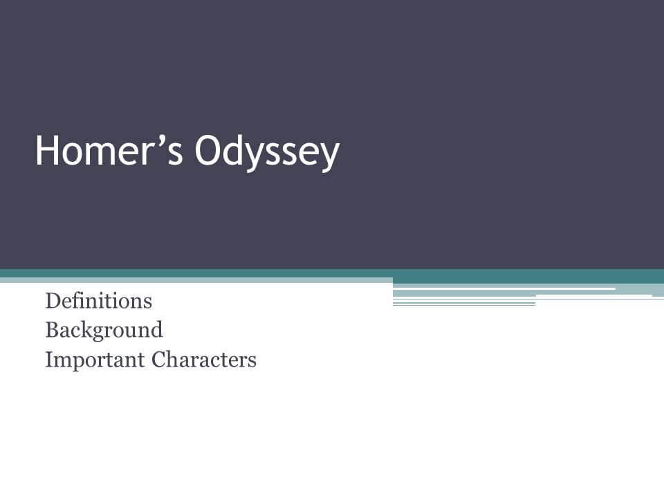 Mortals in the Odyssey (In Ithaca) Antinous – one of Penelope's leading suitors; an arrogant and mean young noble from Ithaca Eurymachus – suitor of Penelope