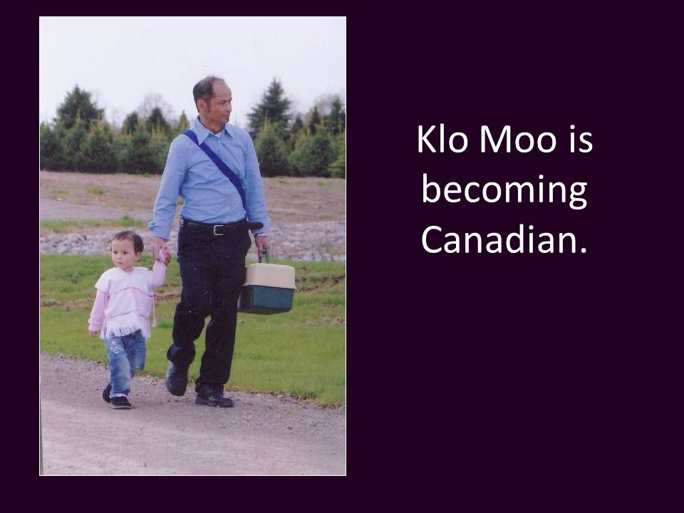 Klo Moo is becoming Canadian.