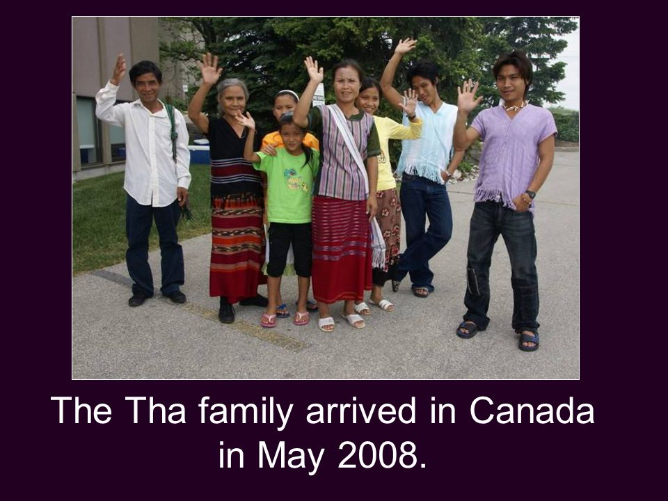 Klo Moo and his family came soon after, joining his daughter who had come to Canada the year before.