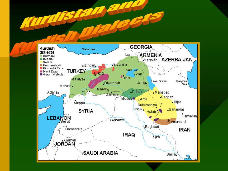 Kurdistan & Kurdish Dialects