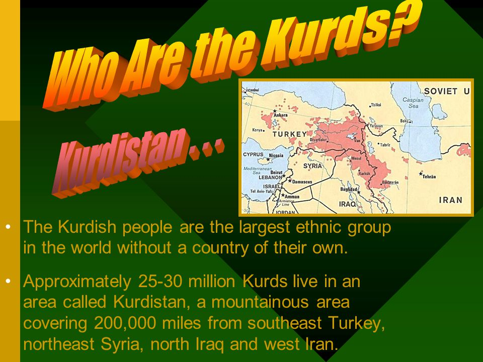 Who are the Kurds.