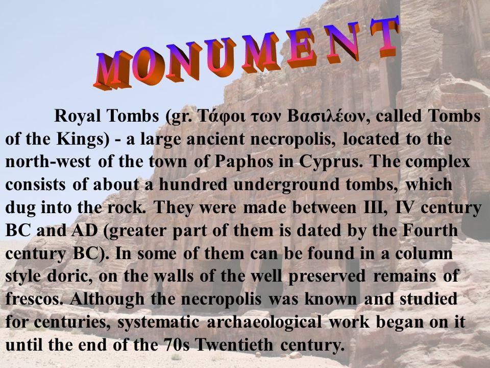 Royal Tombs (gr.