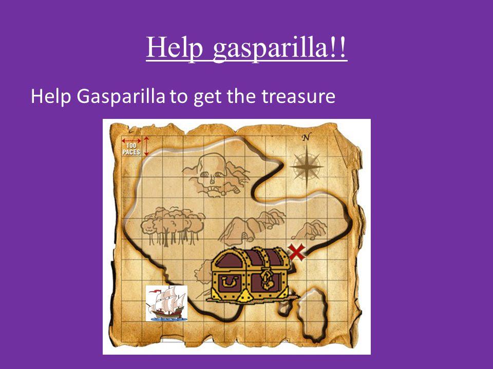 Help gasparilla!! Help Gasparilla to get the treasure
